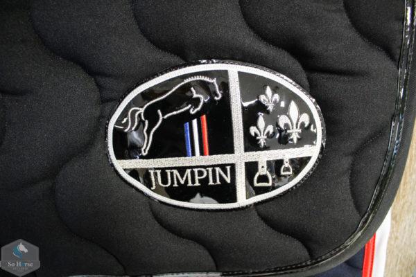 Tapis De Selle Noir Jump In So Horse Sellerie