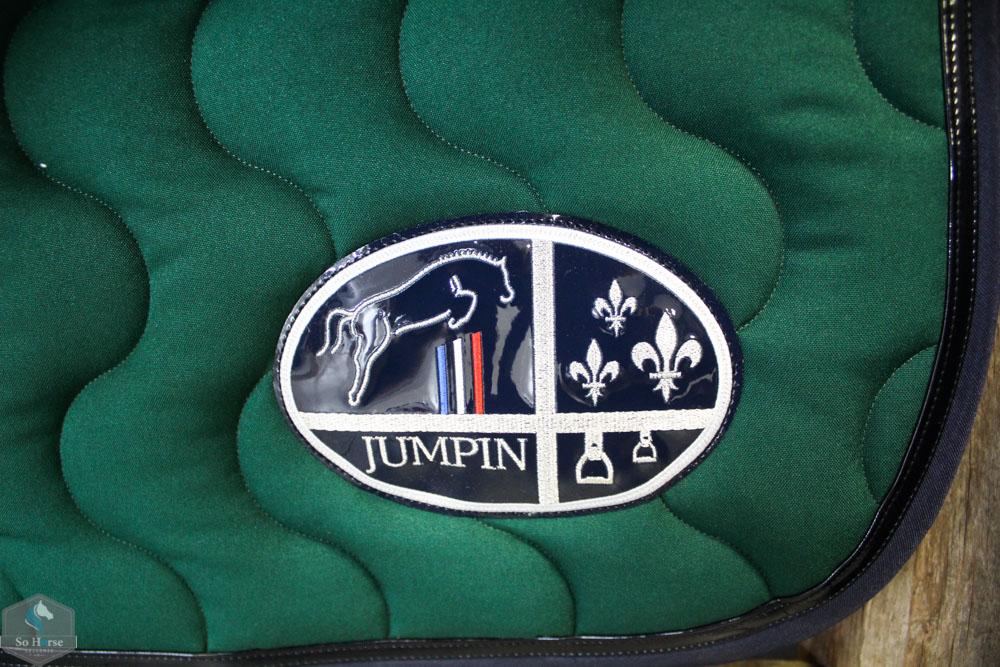 Tapis De Selle Vert Jump In So Horse Sellerie