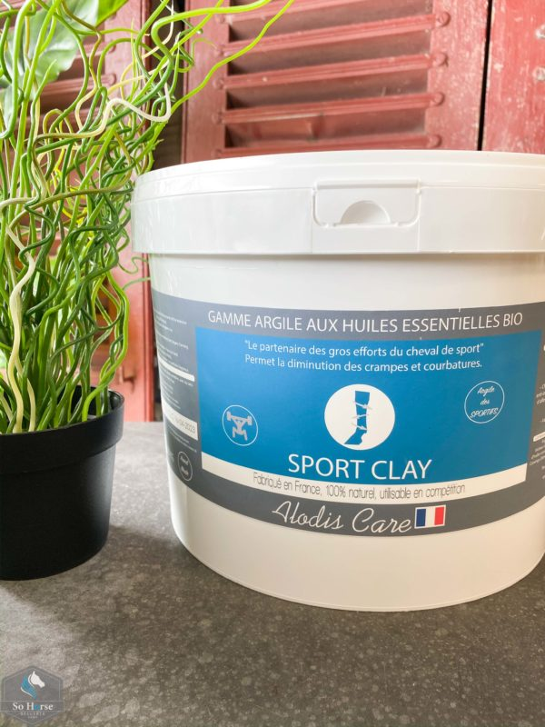 SPORT CLAY – Argile professionnelle ALODIS CARE
